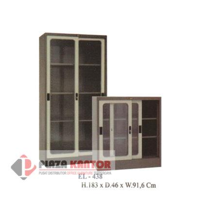 Cupboard sliding glass EL 438