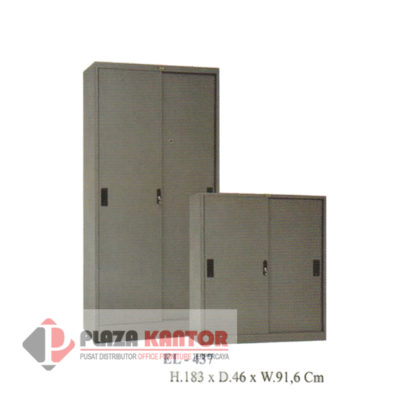 Filing Cabinet Cupboard sliding door EL 437