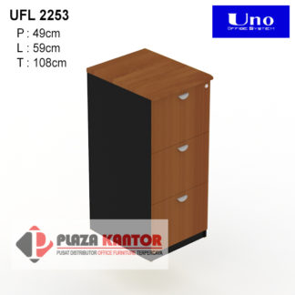 Filing Cabinet Uno Platinum UFL 2253