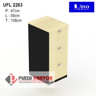 Filing Cabinet Uno Platinum UFL 2263