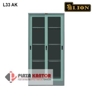 Lion Cupboard Kantor Lemari Arsip L33 AK