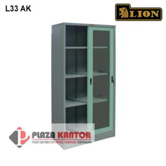 Lion Cupboard Kantor Lemari Arsip L33 AK dalam