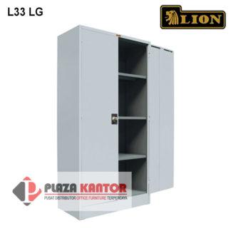 Lion Cupboard Kantor Lemari Arsip L33 LG dalam