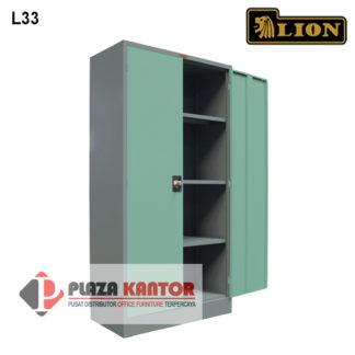 Lion Cupboard Kantor Lemari Arsip L33 dalam