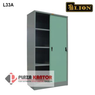 Lion Cupboard Kantor Lemari Arsip L33A DALAM