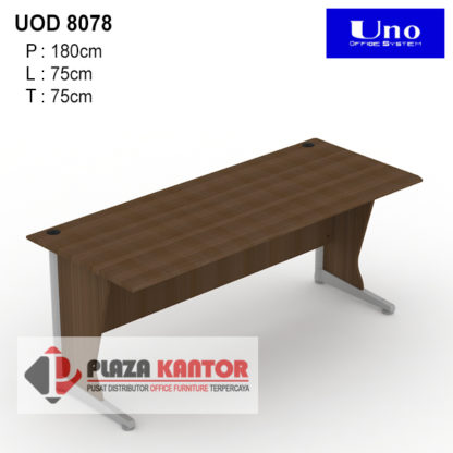 Meja Kantor Uno Lavender UOD 8078