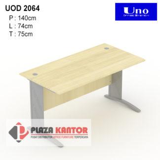 Meja Kantor Uno Platinum UOD 2064