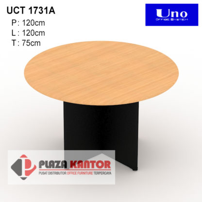 Meja kerja Bundar UCT 1731A