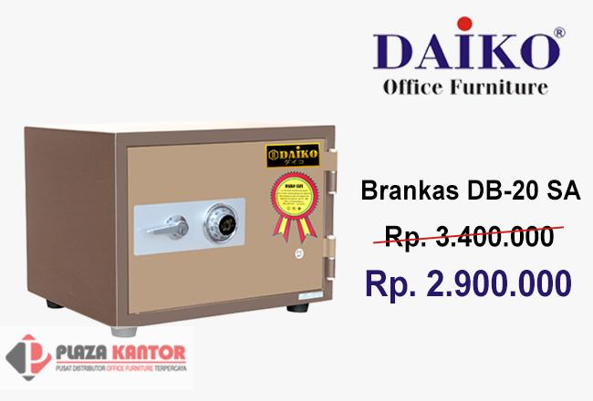 Brankas Daiko DB-20 SA Alarm Promo