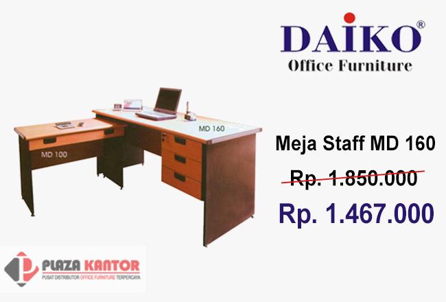 Meja Kantor Staff Daiko MD 160 + Laci