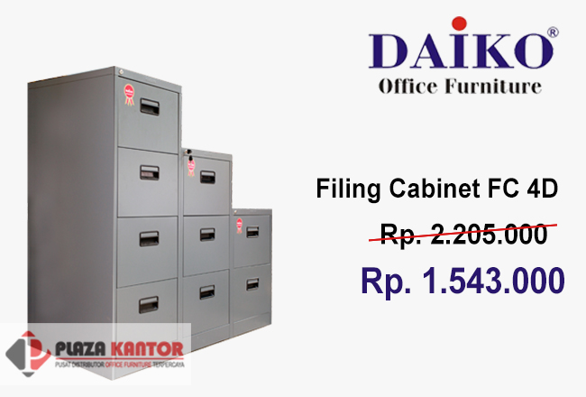 Filling Cabinet 4Laci FC 4D Harga Murah Ver2